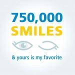 750,000 SMILES